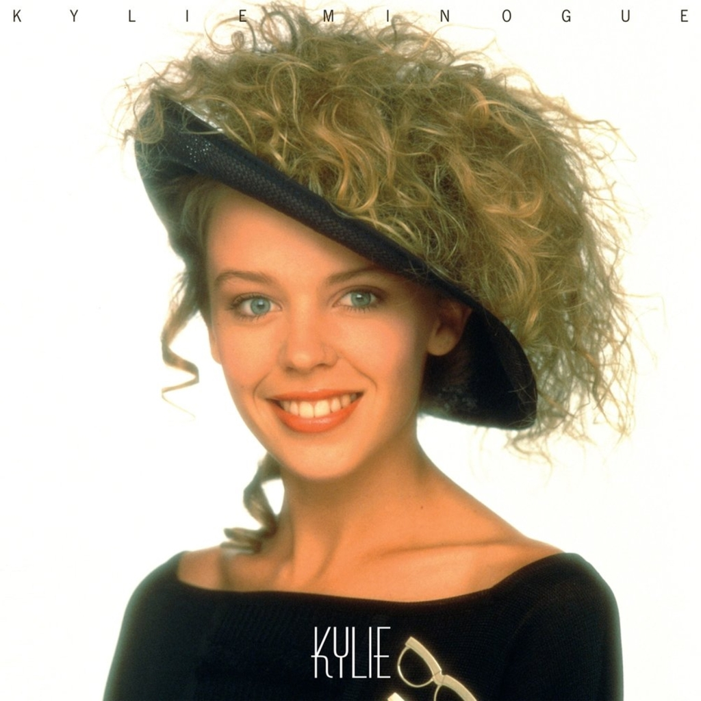 "Capa do álbum ""Kylie""."